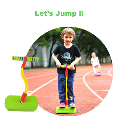 Foam Pogo Jumper For Kids Toddlers Childrens Bungee Bouncing Fun Toy With Sound • 8.99£