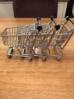 M&S Mini Shopping Trolleys • 5£