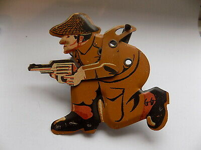 Vintage Tinplate Clicker Toy ''army Soldier'' • 14.99£