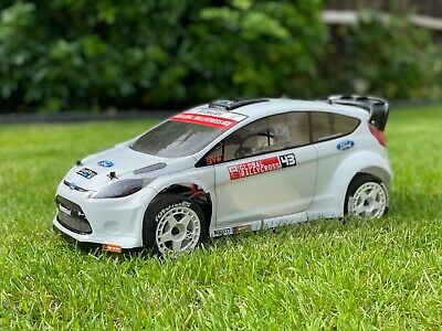 Fiesta WR8 HPI FLUX 1:8 Reproduction White ABS Body Shell Kamtec Ken Block RC  • 24.99£