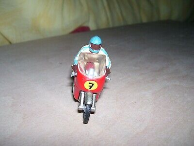 Lesney Motor Cycle And Rider Number 7 • 3.99£