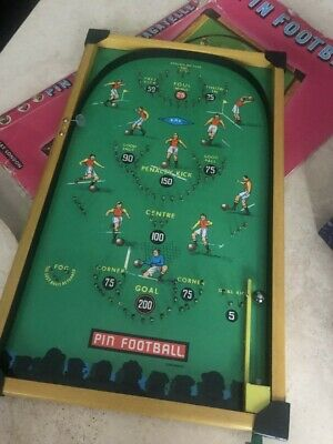 Vintage Pinball Bagatelle Game Football Rare - Kay London • 5£