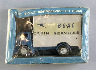 Boac Cabin Service Lift Truck Budgie Model 302 Unopened Box Vintage Airline Toy • 59.95£