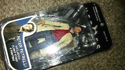 2007 MEZCO TOYS NBC HEROES SERIES 1 PETER PETRELL ACTION FIGURE With Accessori • 22.99£