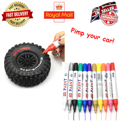 Rc Car Tire Paint Pen Marker For Crawler Accessories Traxxas TRX 4 Axial XMaxx • 5.99£