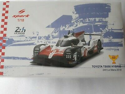 Spark 1:18 Scale 18LM18 - Toyota TS050 - Le Mans Winner 2018 • 185£