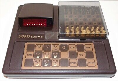 Vintage 1980 Boris Diplomat Electronic Chess Computer (Applied Concepts Inc.) • 59.99£