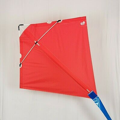 PETER POWELL Stunt Kite MKIII RED  - Adults Kids Outdoor Sport Toy • 39.95£