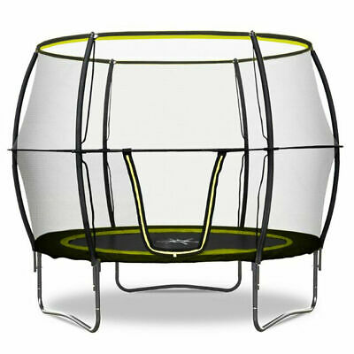 Rebo Base Jump 8FT Trampoline With Halo II Enclosure • 100£
