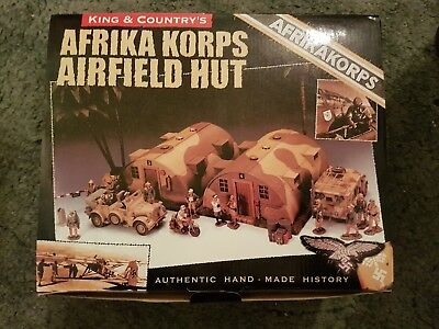 King And Country Afrika Korps Airfield Hut • 150£