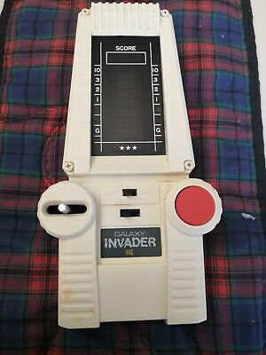 CGL Galaxy Invader LSI Handheld Electronic Game Vintage 1978  Fully Working • 23£