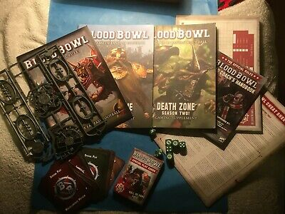 BloodBowl 2016 Books, Templates, Dice, Team Sheets • 11.80£