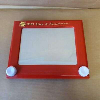 Mattel Magic Etch A Sketch Screen 2009   • 20£