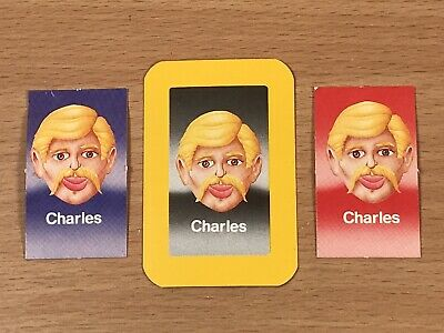 Guess Who? Vintage (MB Games 1987 Version) Spare/Replacement Cards - YOU PICK • 0.99£
