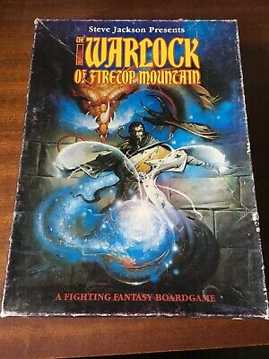 The Warlock Of Firetop Mountain Board Game - NOT COMPLETE  • 14.99£