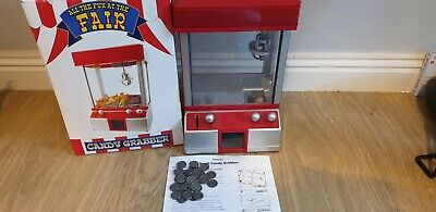 Candy Grabber Machine Peers Hardy Used Few Times With Money • 8£