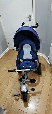 Little Tiger Tricycle, Navy Blue • 40£