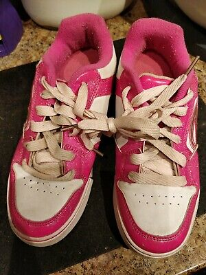 Heels,Pink And White Size 4 • 5£