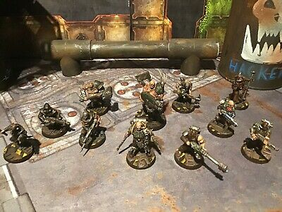 Necromunda Painted Chaos Cultist Gang • 99.99£