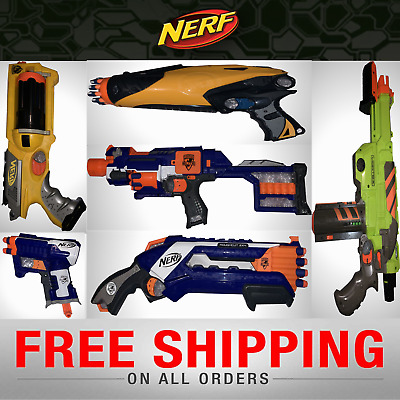 Nerf Guns ✔ Free Bullets With Every Gun ✔ Same Day Dispatch ✔ Multiple Choices ✔ • 9.99£