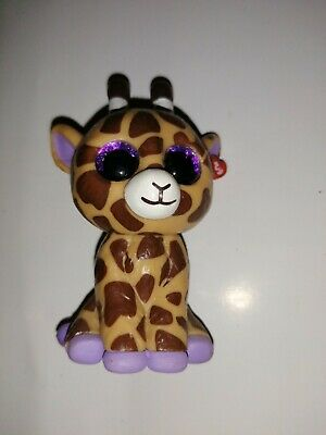 Ty Mini Boo Collectable Figurine - Safari The Giraffe • 0.99£