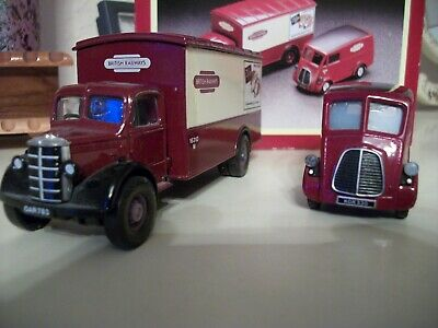 Corgi Transport Of The 50s And 60s. 1/50 Scale Bedford And BMC British Railways • 10£