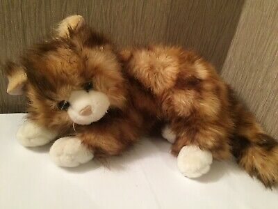 "Ty Classic Tabby Cat ""Jumbles"" 12"" 2009 Rare Collectable Gift • 24.99£"