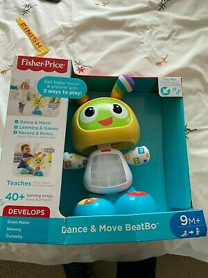 Fisher-Price Bright Beats Dance & Move BeatBo Toddler Toy • 8£