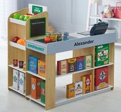 Wooden Role Play Supermarket Play Centre BNIB - For Collection From Bolton BL1 • 89.99£