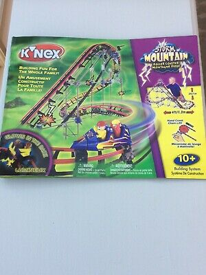 Knex Storm Mountain Roller Coaster Set - Boxed, Used • 23£