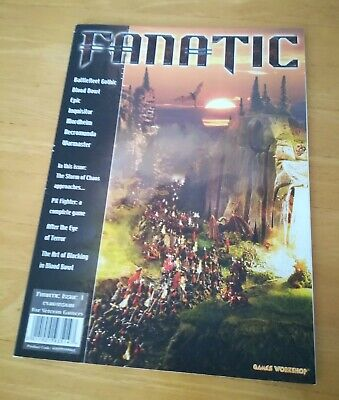 Games Workshop Fanatic Magazine Issue 1 - Good Condition • 1.50£