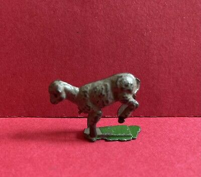 VINTAGE CHERILEA LEAD JUMPING LAMB FARM ANIMALS 1940/50s RARE • 7.99£