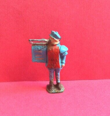 CRESCENT MEDIEVAL HERALD LEAD TOY SOLDIER FIGURE VINTAGE 1940s/50s • 14.99£