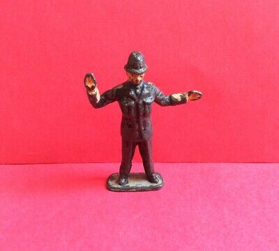 TIMPO VINTAGE LEAD TRAFFIC POLICEMAN TOY SOLDIER 1940/50s RARE • 7.99£