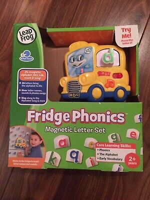 Leapfrog Fridge Phonics Magnetic Letter Set - Very Good Clean Condition • 20.99£