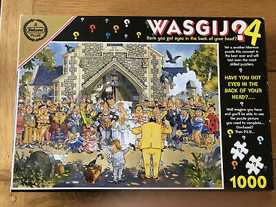 Wasgij Eyes In The Back Of The Head Jigsaw Puzzle No.4- 1000 Piece • 3.20£