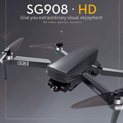 2021 NEW SG908 Drone 3-Axis Gimbal 4K Camera 5G Wifi GPS FPV Profesional Drone • 145.39£