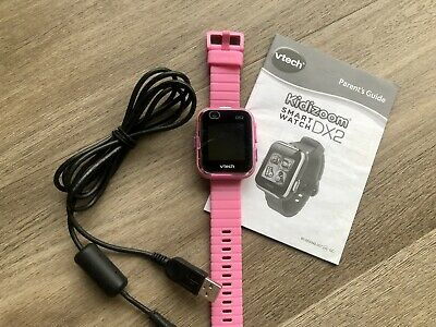 Vtech Kidizoom Children's/Girls Smart Watch DX2 With Camera And Games In Pink • 0.99£