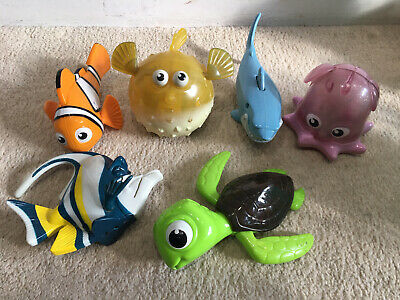 6 X Mcdonalds Happy Meal Disney Nemo Toys • 12£