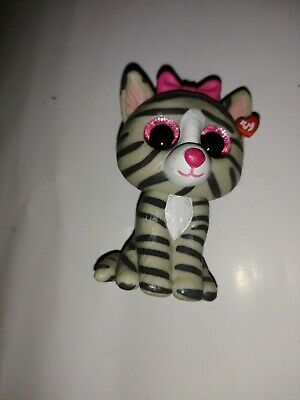 Ty Mini Boos Kiki The Grey Tabby Cat • 3.50£