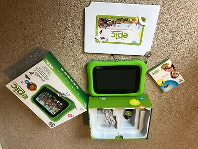 LeapFrog EPIC Learning Tablet - Green • 12.50£