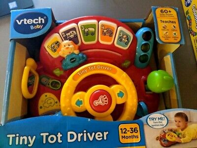 Vtech 166603 Tiny Tot Driver Toddler Interactive Drover Toy - Multicoloured • 15.99£