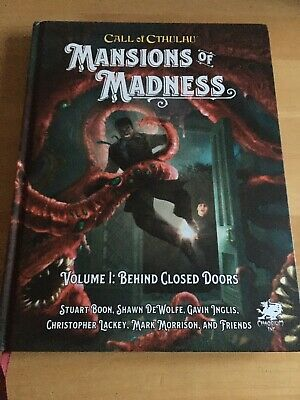 Call Of Cthulhu Mansions Of Madness Volume 1 Behind Closed Doors • 28£
