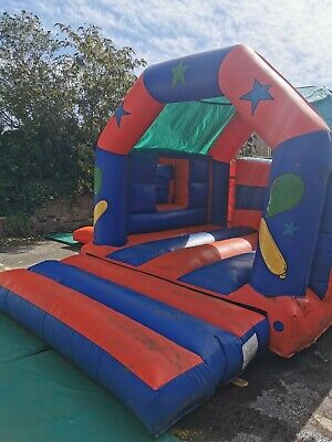 Bouncy Castle And Blower - Red And Blue • 500£