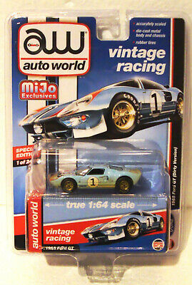 Auto World Mijo Exclusive Vintage Racing Ford GT40 Le Mans 24 Hour 1966  • 24.75£