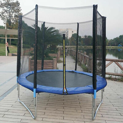 6Ft Trampoline Kids Bouncer Outdoor Jumping Trampoline W/ Enclosed Safety Net UK • 94£