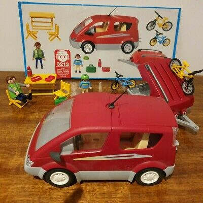 Playmobil Family Car And Trailer • 11.50£