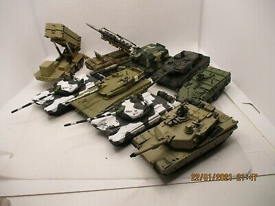 Job Lot 1/72 Scale Die-cast Tanks Missile Defence Systems  • 12.37£