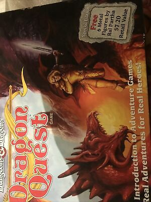 TSR Dungeons & Dragons - Dragon Quest Board Game - Special Edition 1992 • 4.99£
