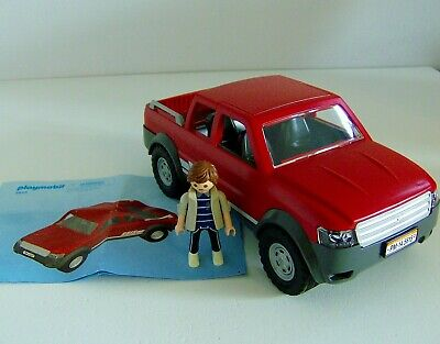 Playmobil Large Pick Up Truck 5615 With Driver Figure • 34.99£